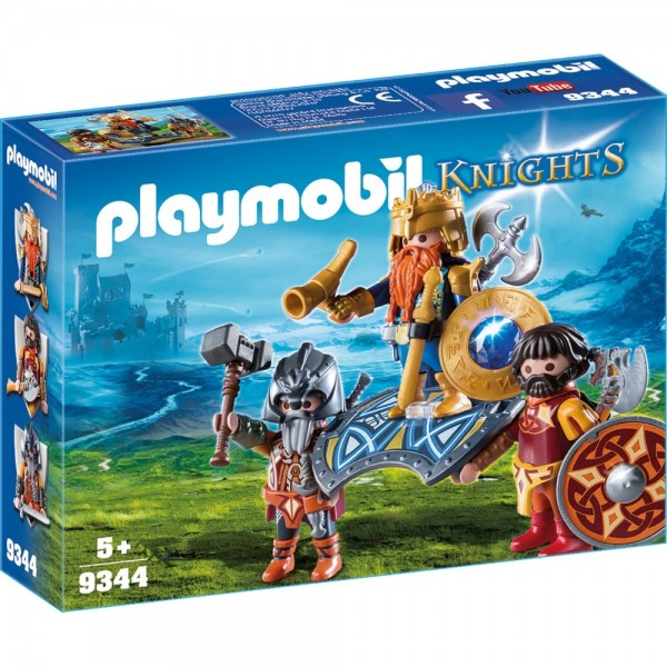 Playmobil® Knights Zwergenkönig 9344