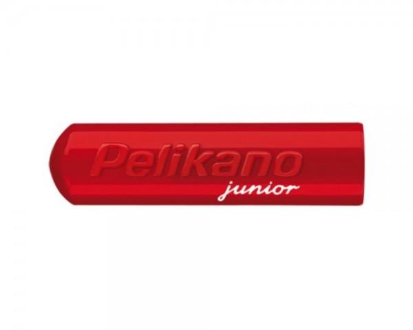 Ersatz Kappe für Füller Pelikano Junior P67 rot
