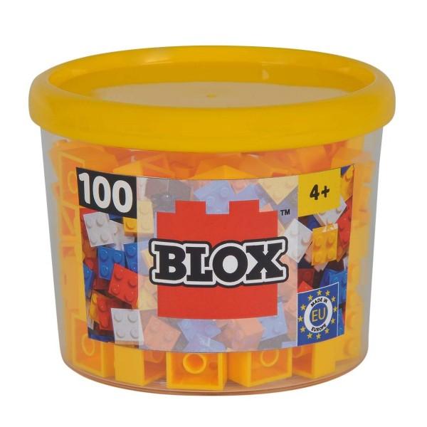 Simba Blox 100 gelbe 4er Steine in Dose
