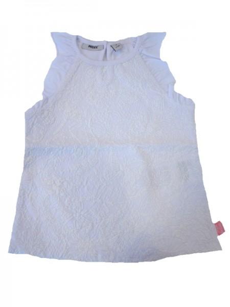 MEXX Mädchen T-Shirt white mit Blumenmuster Gr. 74 - 92