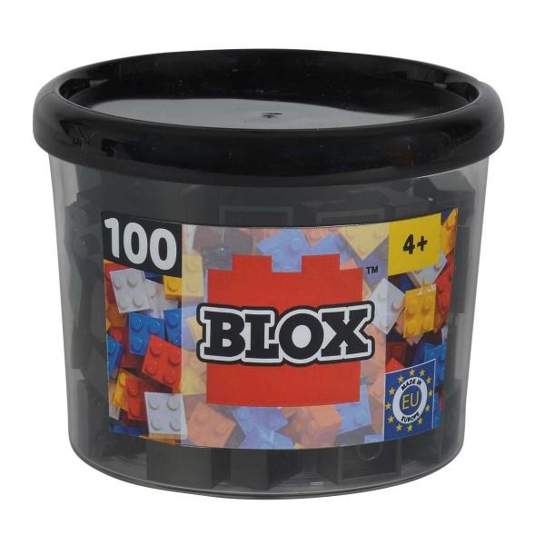 Simba Blox 100 schwarze 4er Steine in Dose