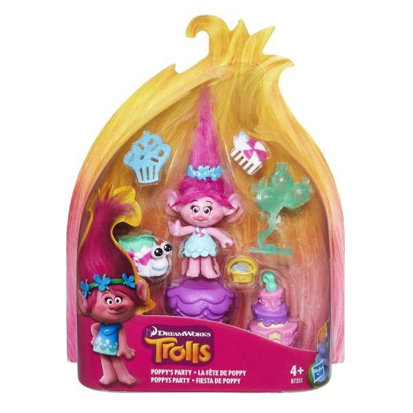 Hasbro Trolls Spielset Poppys Party