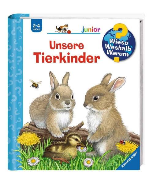 Ravensburger Kinder Buch Wieso Weshalb Warum? Junior Unsere Tierkinder