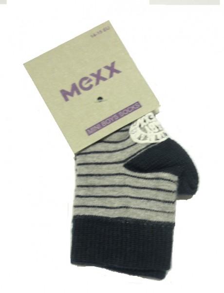MEXX Jungen Baby Socken gestreift