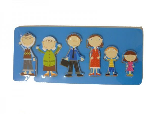 TRÄ PRESENT Holzpuzzle Familie