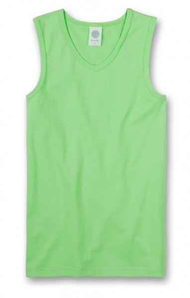 SANETTA Jungen Unterhemd apfelgrün