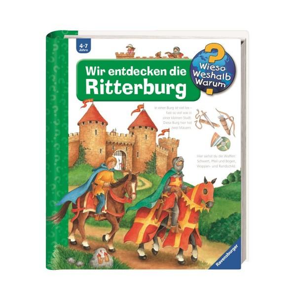 Ravensburger Wieso Weshalb Warum? Wir entdecken die Ritterburg Band 11