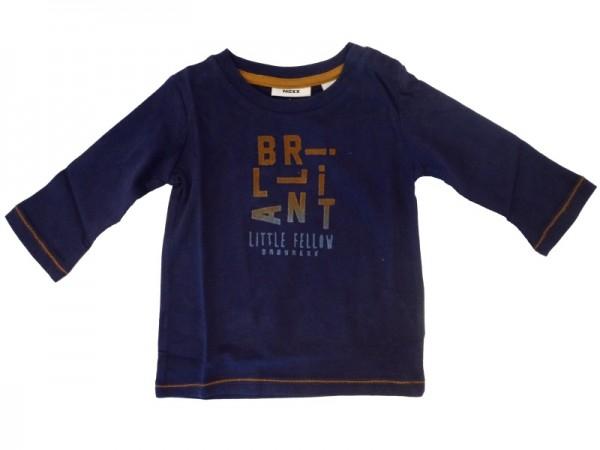 MEXX Jungen Baby Langarm-Shirt blue rock Gr. 56 - 68