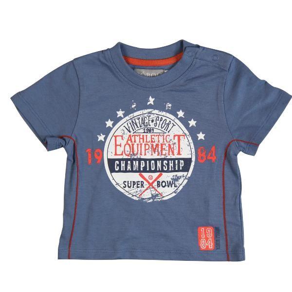 Bóboli Jungen T-Shirt blau Gr. 86 - 104