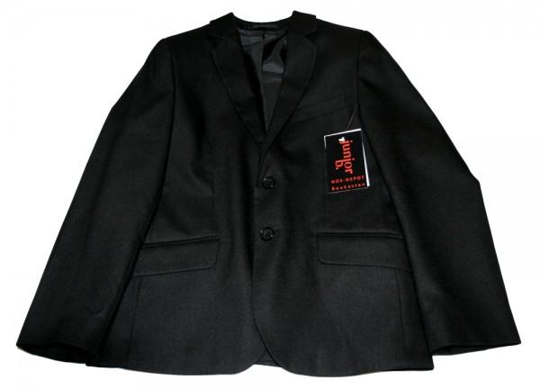 junior b. Jungen Kinder Anzugsjacke schwarz Gr. 134 - 152