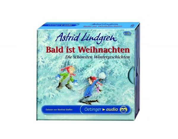 Kinder-CDs 4er Pack Astrid Lindgren Bald ist Weihnachten