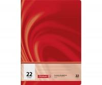 Schulheft A4 kariert Lineatur 22 (16 Blatt)