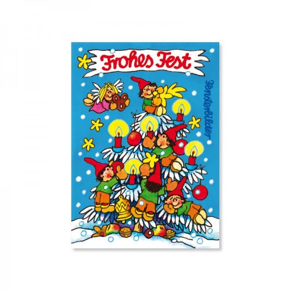 Lutz Mauder Grußkarte Weihnachtswichtel