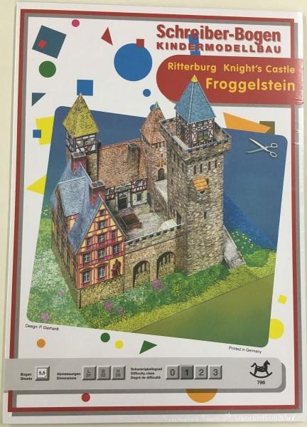 Schreiber-Bogen Kindermodellbau Ritterburg Froggelstein TT