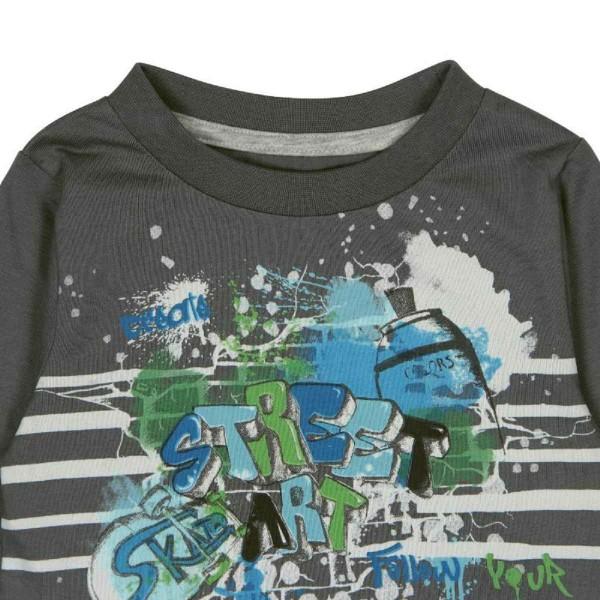 Bóboli Jungen Langarmshirt Graffiti Gr. 74 - 104