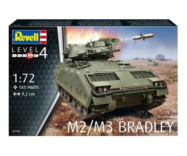 Revell Modellbausatz Panzer M2/M3 Bradley 1:72