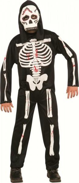 RUBIES Kinderkostüm Skeleton