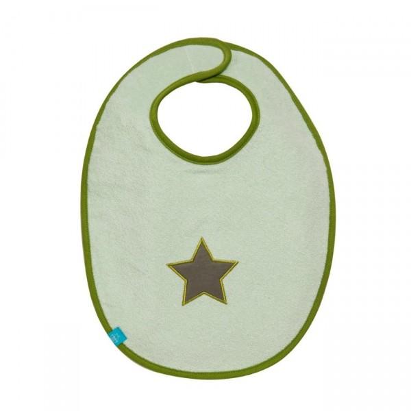 LÄSSIG Lätzchen Starlight oliv