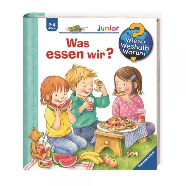 Ravensburger Wieso Weshalb Warum? Junior Was essen wir ? (Band 53)