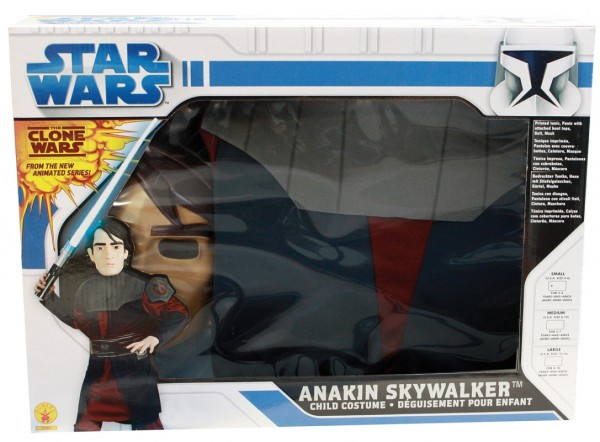Rubies Kinderkostüm Clone Wars Anakin Box-Set