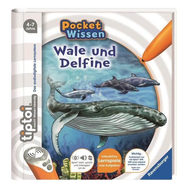 tiptoi® Buch Pocket Wissen Wale und Delfine