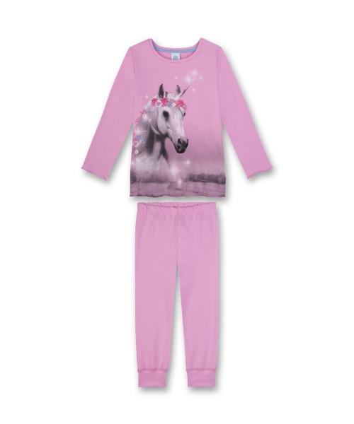 Sanetta Mädchen Schlafanzug lang Pferd rosa Gr. 92 - 140