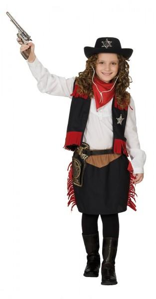 RUBIES - Kinderkostüm Cowgirl 3 tlg.
