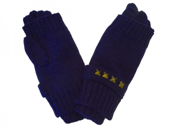 MEXX Mädchen Kinder Handschuhe mit Stulpe dress blues