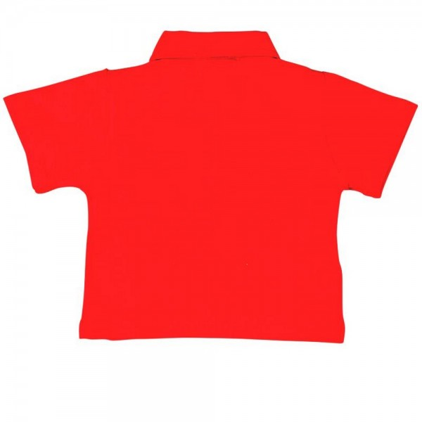 Bóboli Jungen kurzärmliges Polo-Shirt rot Gr. 74 - 92