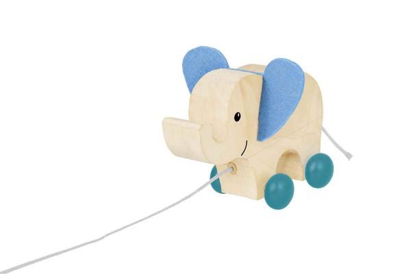 Selecta Holzspielzeug Nachziehtier Elefant Yambo