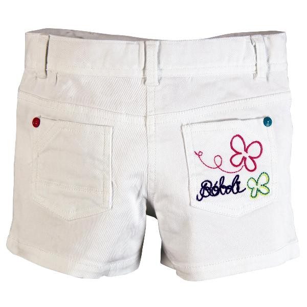 Bóboli Mädchen kurze Hose weiß Gr. 110 - 164
