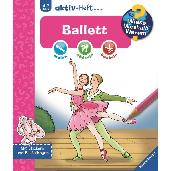 Ravensburger Wieso Weshalb Warum? aktiv-Heft Ballett