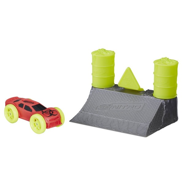 Hasbro Nerf Nitro Soft Racer Stunt Set (Motivauswahl)