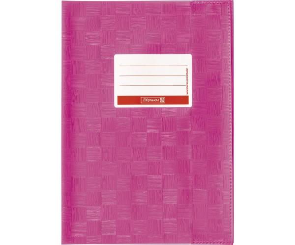 Heftumschlag A4 pink