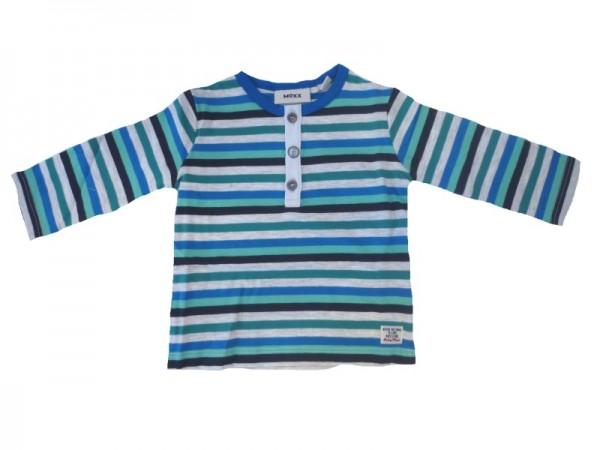 MEXX Jungen Baby Langarmshirt paper melange Gr. 56 - 68