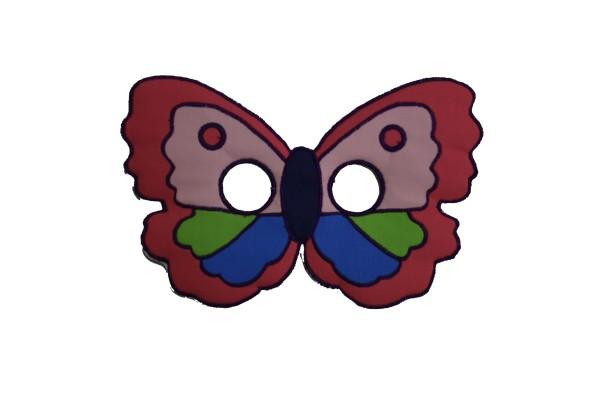 Kinder Tiermaske Schmetterling