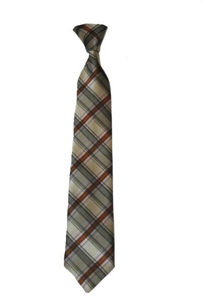 junior b. Jungen Krawatte gebunden braun