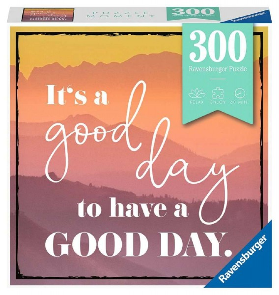 Ravensburger Puzzle Moment 300 Teile Visual Statements A good Day