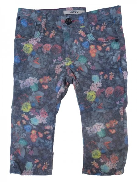 MEXX Mädchen Kinder Jeans Blumenprint tap shoe Gr. 74 - 92
