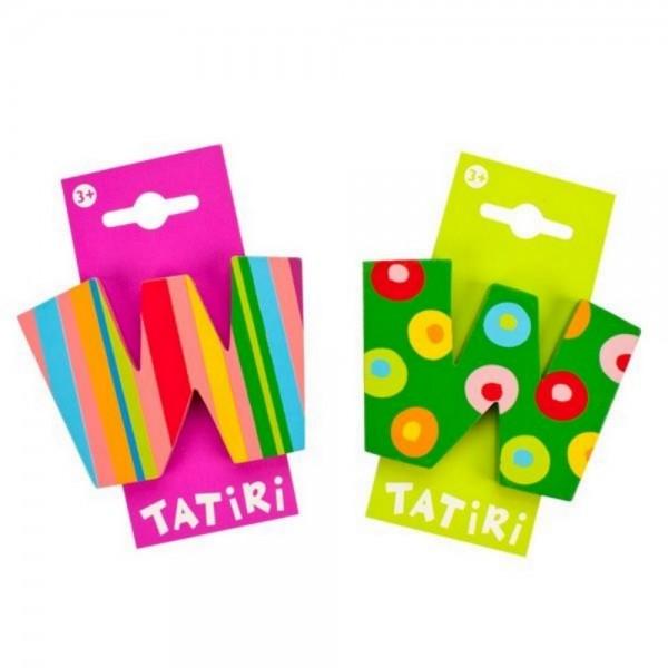 Tatiri Holzbuchstabe W