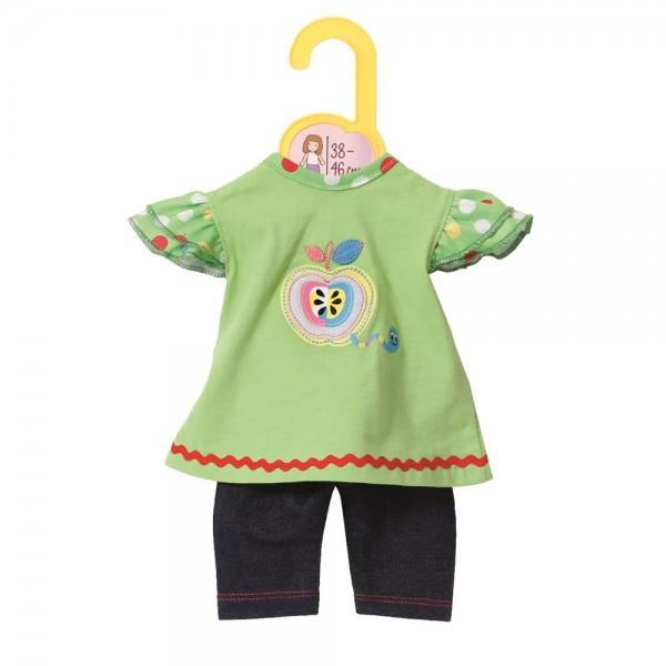 Dolly Moda Shirt mit Leggins 38-46 cm