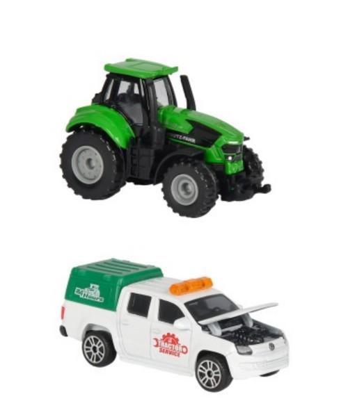 Majorette Farm Spielzeugfahrzeuge 2er Pack (Motivauswahl)