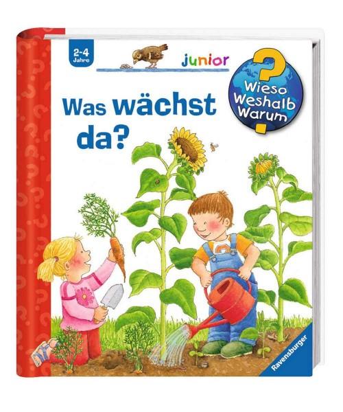 Ravensburger Kinder Buch Wieso Weshalb Warum? Junior Was wächst da?