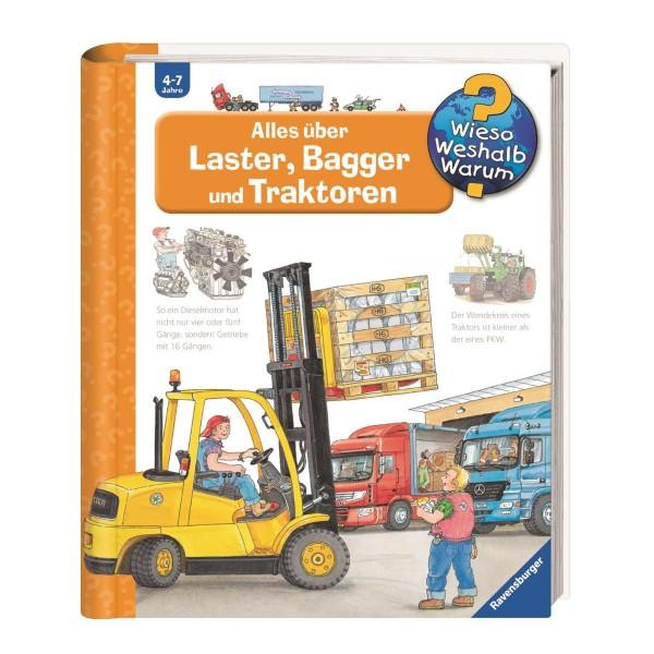 Ravensburger Wieso Weshalb Warum?Alles über Laster,Bagger&Traktoren(Band38)