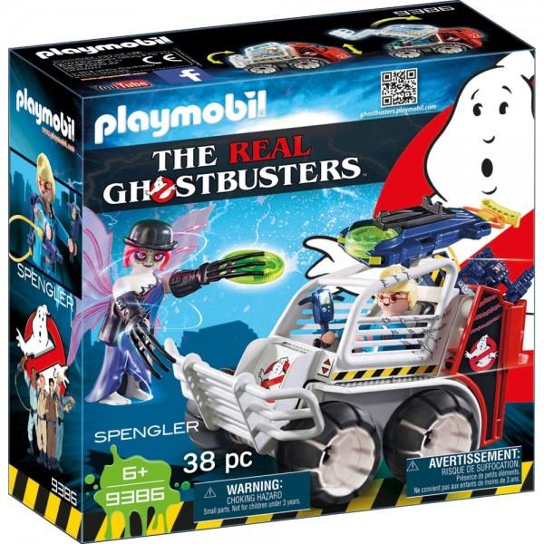 Playmobil® Ghostbusters Spengler mit Käfigfahrzeug 9386