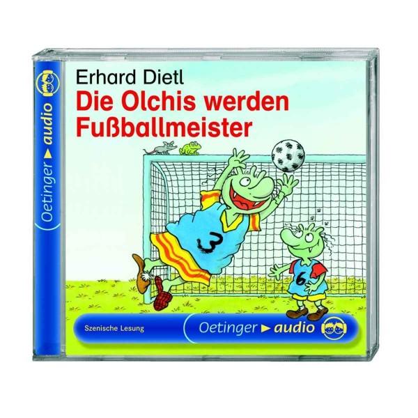 Kinder-CD Die Olchis werden Fußballmeister