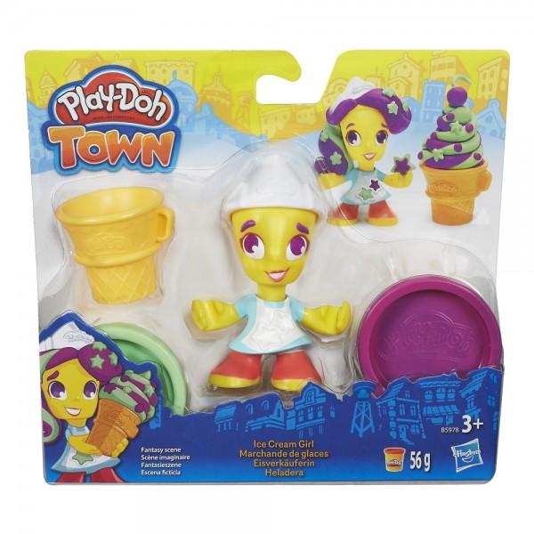 Hasbro Play-Doh Town Spielfigur Eisverkäuferin