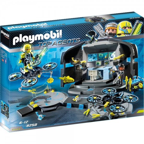 Playmobil® Top Agents Dr. Drone's Command Center 9250