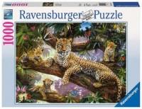 Ravensburger Puzzle 1000 Teile Stolze Leopardenmutter