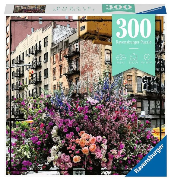 Ravensburger Puzzle Moment 300 Teile Flowers in New York